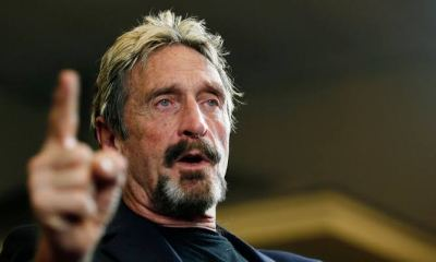 John McAfee Reportedly Dead After Extradition To US Approved
