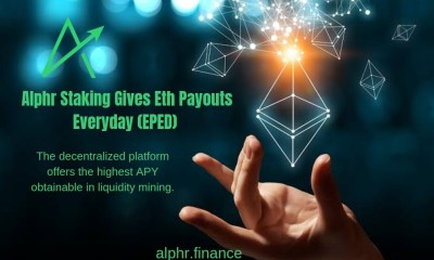 Alphr Finance Attains the No1 Spot For ETH Staking