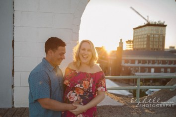 Downtown Wilmington Maternity Photographer