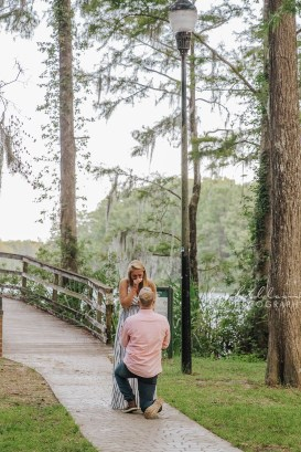 Greenfield Lake Engagement Proposal Photographer