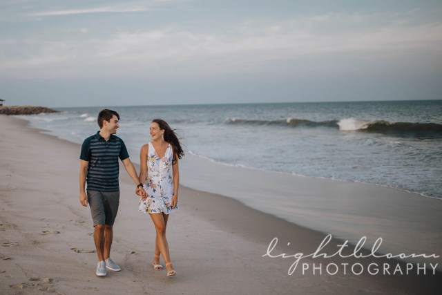 Fort Fisher Engagement Photographer