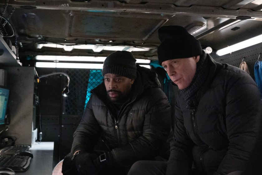 """CHICAGO P.D. -- """"Impossible Dream"""" Episode 809 -- Pictured: (l-r) LaRoyce Hawkins as Kevin Atwater, Jason Beghe as Hank Voight -- (Photo by: Sandy Morris/NBC)"""