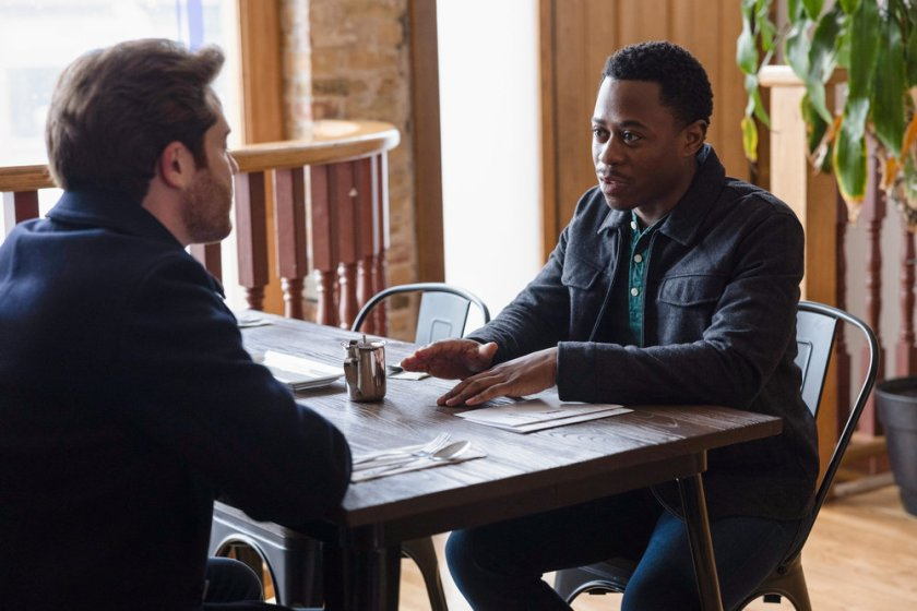 """CHICAGO FIRE -- """"A Couple Hundred Degrees"""" Episode 911 -- Pictured: Daniel Kyri as Darren Ritter -- (Photo by: Adrian S. Burrows Sr./NBC)"""