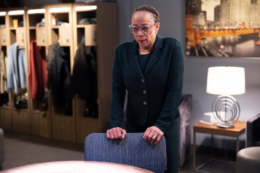 """CHICAGO MED -- """"What A Tangle Web We Weave"""" Episode 613 -- Pictured: S. Epatha Merkerson as Sharon Goodwin -- (Photo by: Adrian S Burrows Sr./NBC)"""