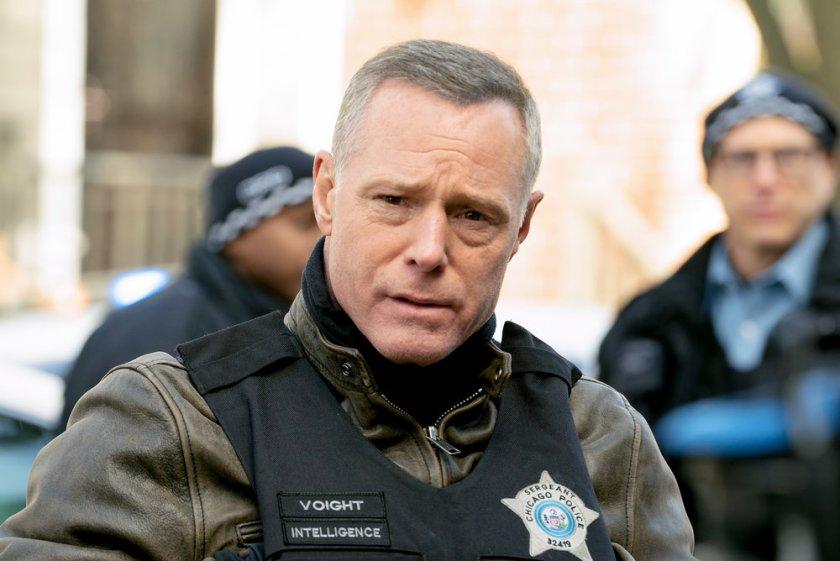 "CHICAGO P.D. -- ""Safe"" Episode 814 -- Pictured: Jason Beghe as Hank Voight -- (Photo by: Lori Allen/NBC)"