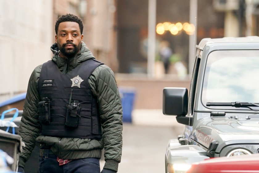 """CHICAGO P.D. -- """"Safe"""" Episode 814 -- Pictured: LaRoyce Hawkins as Kevin Atwater -- (Photo by: Lori Allen/NBC)"""
