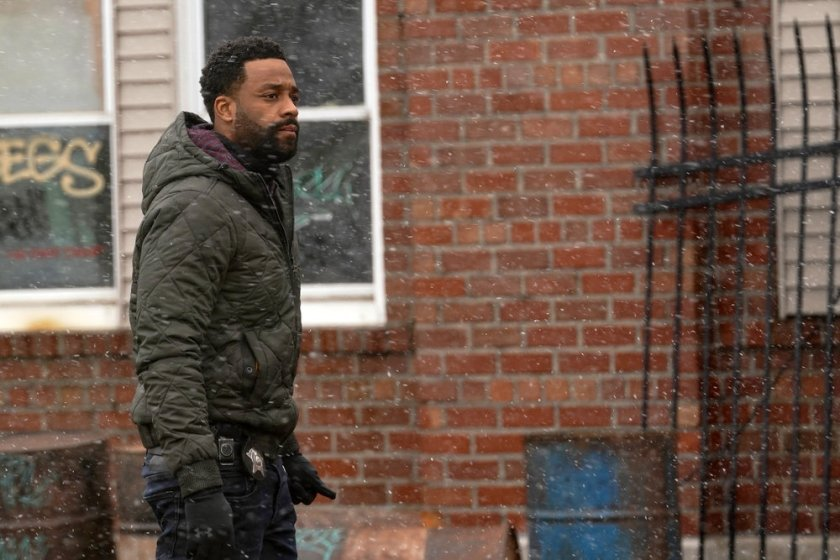 """CHICAGO P.D. -- """"The Right Thing"""" Episode 815 -- Pictured: LaRoyce Hawkins as Kevin Atwater -- (Photo by: Lori Allen/NBC)"""