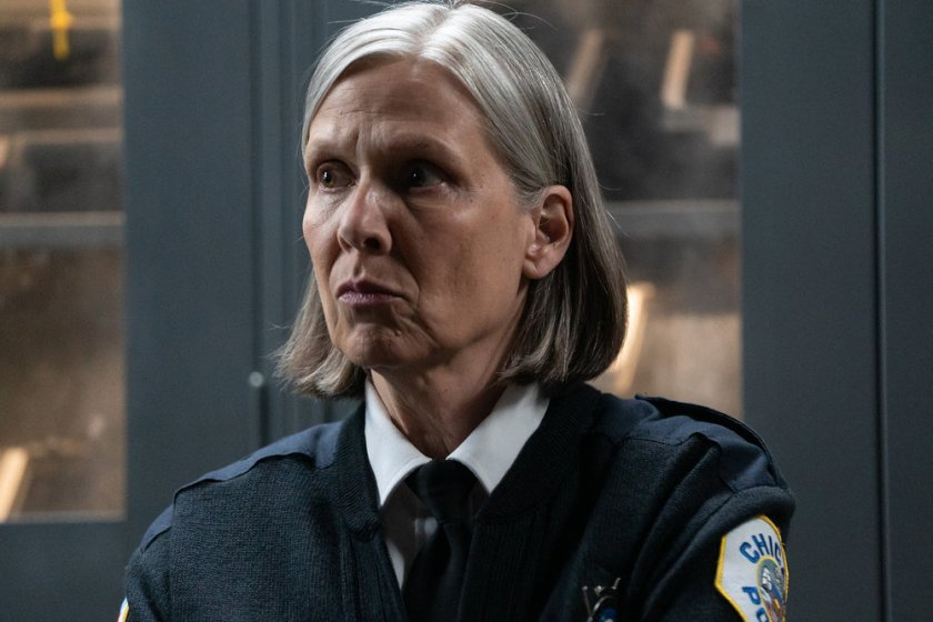 """CHICAGO P.D. -- """"The Other Side"""" Episode 816 -- Pictured: Amy Morton as Trudy Platt -- (Photo by: Lori Allen/NBC)"""