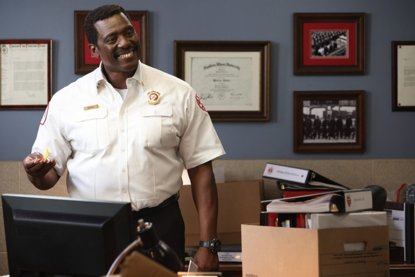 """CHICAGO FIRE -- """"Mayday"""" Episode 1001 -- Pictured: Eamonn Walker as Wallace Boden -- (Photo by: Adrian S. Burrows Sr./NBC)"""