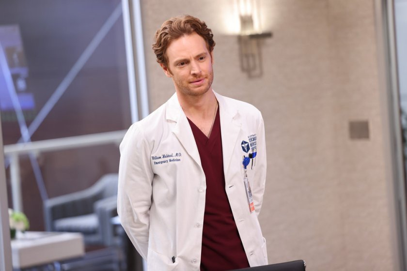 """CHICAGO MED -- """"Status Quo, aka The Mess We're In"""" Episode 704 -- Pictured: Nick Gehlfuss as Dr. Will Halstead -- (Photo by: George Burns Jr/NBC)"""