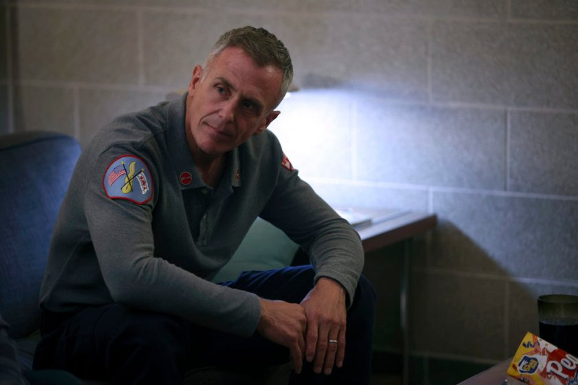 """CHICAGO FIRE -- """"The Right Thing"""" Episode 1004 -- Pictured: David Eigenberg as Christopher Herrmann -- (Photo by: Adrian S. Burrows Sr./NBC)"""