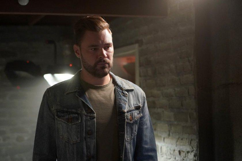 "CHICAGO P.D. -- ""In The Dark"" Episode 904 -- Pictured: Patrick John Flueger as Adam Ruzek -- (Photo by: Lori Allen/NBC)"