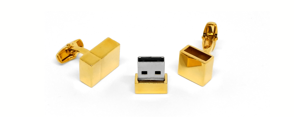 Ideal product photo of cufflinks taken in our lightbox