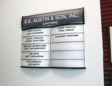 Office Directory Signs