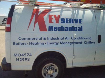 contractor truck lettering in Mt. Prospect IL