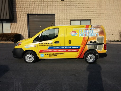 Contractor Vehicle Wraps in Rosemont IL