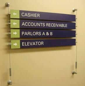 interior signs in Mt. Prospect IL