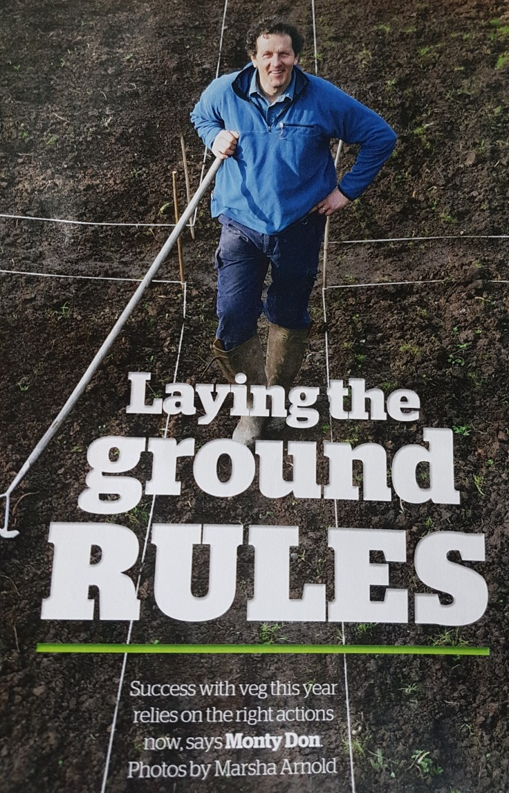 Monty Don Gardeners' World magazine talking about change