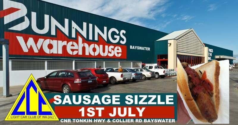 Sausage Sizzle 1st of July