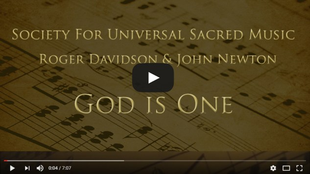 God is One - Roger Davidson