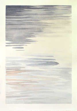 Northern Water 5 - Watercolour on Paper - 29x28.5cm - 2015