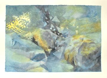 Postcard 3 - Watercolour on paper - 19x14cm - 2015
