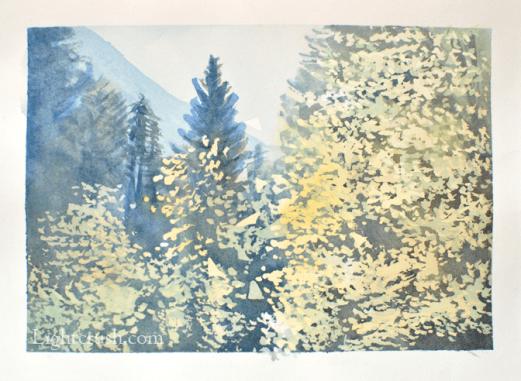 Postcard 5 - Watercolour on paper - 19x14cm - 2015