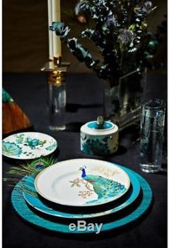222 Fifth Peacock Garden Dinnerware Set 16 Piece Everyday Dining Very Durable