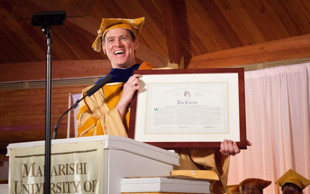 Full Speech: Jim Carrey's Commencement Address at the 2014 MUM Graduation