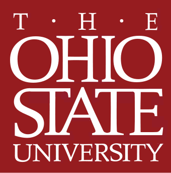 A text logo for Ohio State University