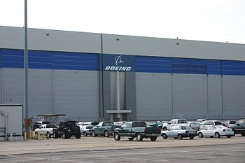 English: Boeing Plant in Wichita, Kansas. Avia...