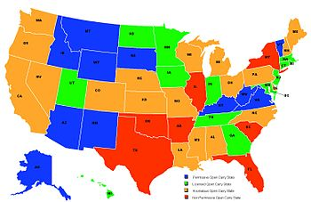 Uninformed Cheerleaders Support National Concealed Carry - Us concealed carry reciprocity map