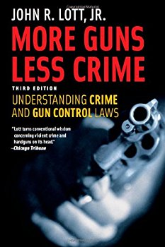 "Cover of ""More Guns, Less Crime: Understa..."