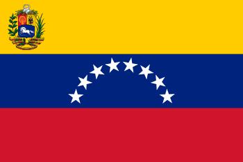 State flag of Venezuela.