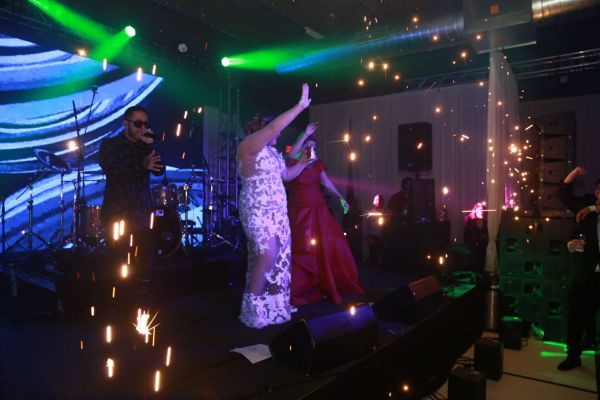 Special effects - Sparkular for weddings