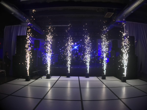Special effects - Sparkular Machine for weddings