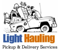 Pickup And Delivery Services Provided By Light Hauling Light Hauling Moving Cleanouts Amp Junk