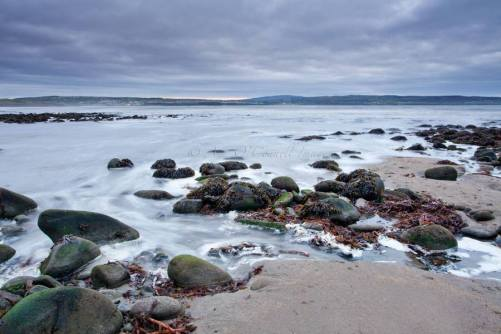 Liscannor in County Clare with Lahinch and Mount Callan in the distance. Photo Ann O'Connell Images