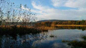 Lough Graney, Clare's largest lake, in East Clare. Photo Ann Illing