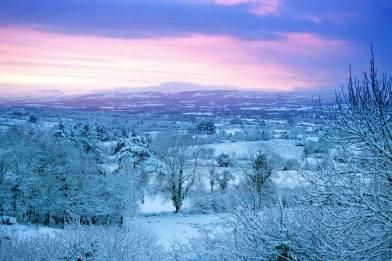 Sunrise in East Clare. Pic Arthur Ellis.