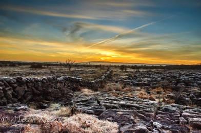 Sunrise in The Burren. Photo by Martin Kiely