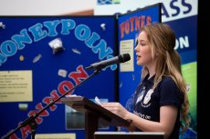 hotographed at the Shannon Foynes Port Company inaugural Transition Year Schools Competition, titled ÔThe Importance of Ports in the Mid-WestÕ, was Amy McNamara, St Patricks Comprehensive, Shannon. The final was held today in front of 300 students, teachers and stakeholders at the Foynes Flying Boat Museum in Foynes. . Pic Sean Curtin Photo.