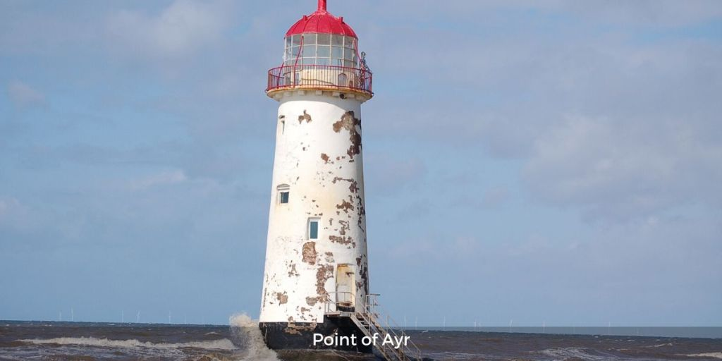Point of Ayr lighthouse north wales