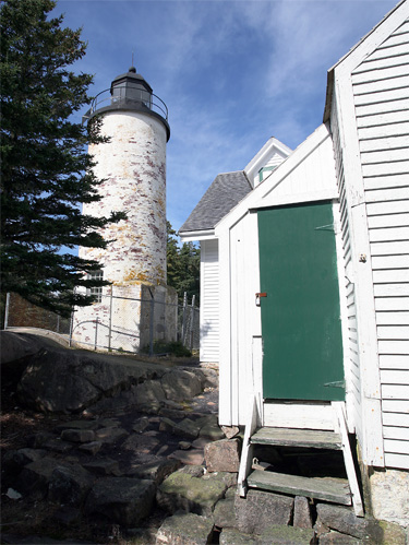 Baker Island Lighthouse Maine At