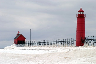 Grand Haven Lighthouse Michigan At