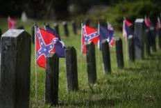 rebel flag graves