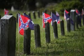 rebel flag graves