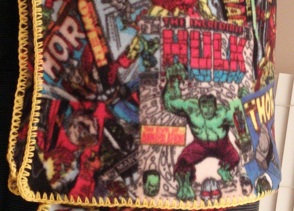 Comic Character Blanket