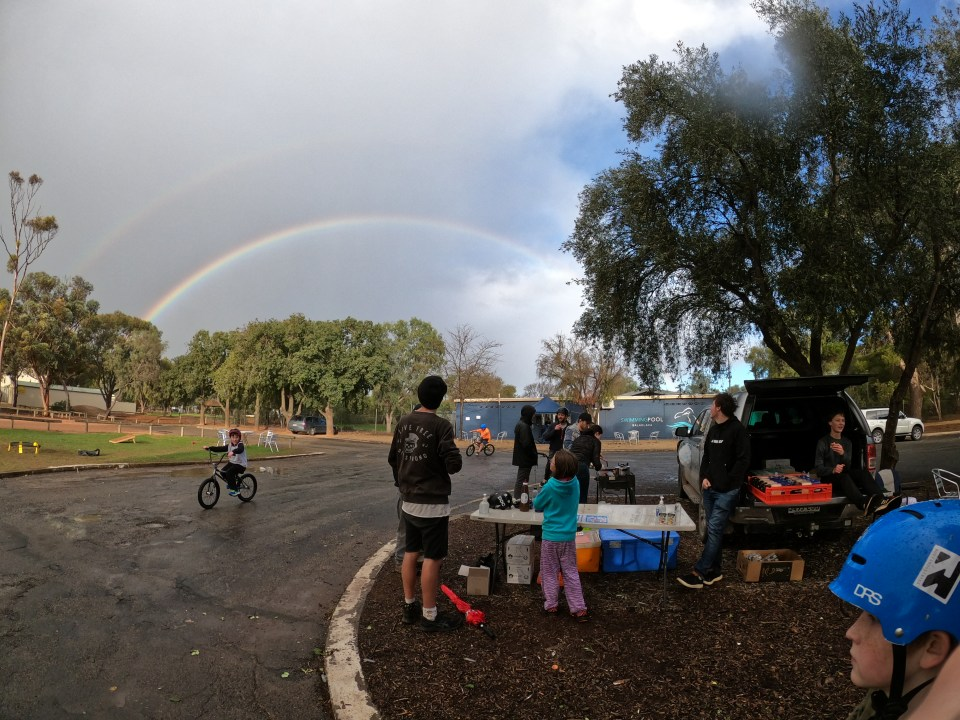 Lighthouse Youth Projects Get Stoked Balaklava rainbow