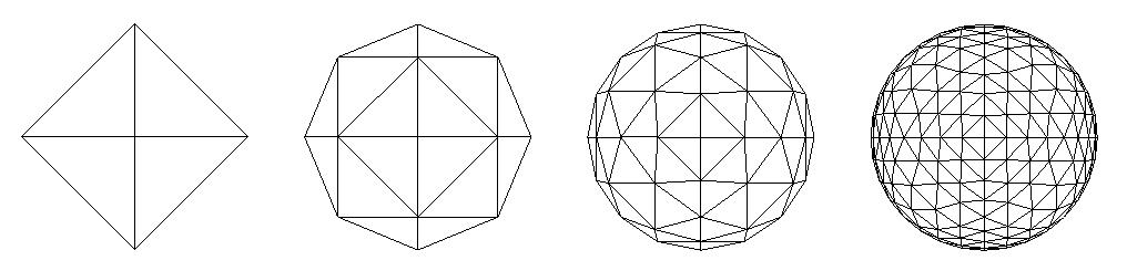 FIG. 13 – Octahedron subdivision